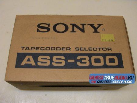 SONY ASS-300 Tape Deck Selector ПРОДАН SOLD OUT !
