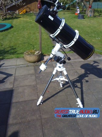 Teleskop Telescope Omegon Advanced 203/1000 EQ-500 Montierung Mount Newton 8