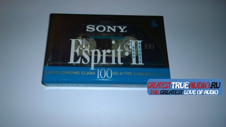 SONY ESPRIT SUPER CHROME 1992 100 MIN..