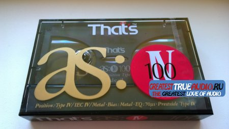THATS AS-METAL  100 1990
