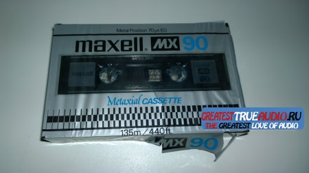 MAXELL MX METAL 1980 USA market..