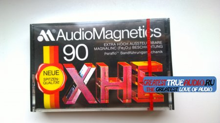 AUDIO MAGNETICS XHE 90-60min 1981