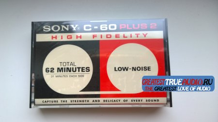 SONY C-60 PLUS2 1975 USA VERSION