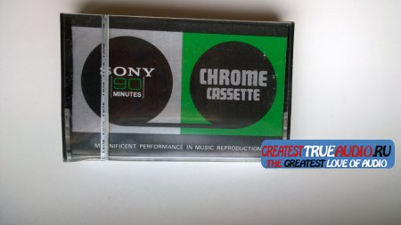 SONY CHROME CASSETTE 90  1976