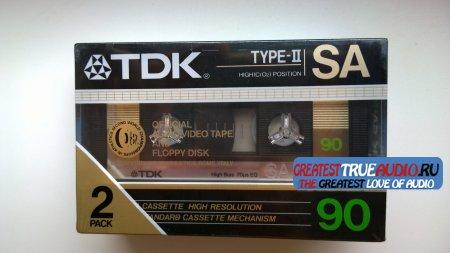 TDK SA 90 X2PACK 1986