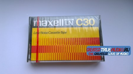 MAXELL LN C-30 USA VERSION  1975