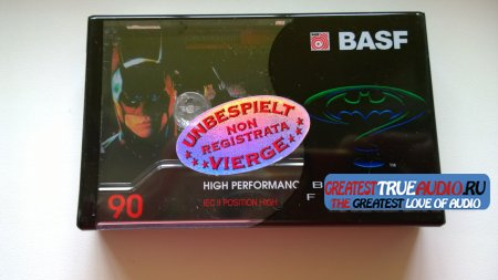 BASF SUPER CHROME PLUS 1995 DISNEY COLLECTION  Batman Forever.