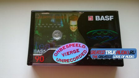 BASF SUPER CHROME PLUS 1995 DISNEY COLLECTION  Batman Forever..