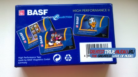 BASF SUPER CHROME PLUS 1995 DISNEY COLLECTION  Donald Duck.
