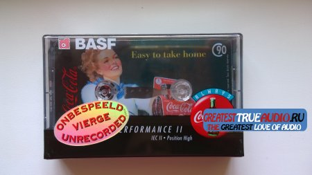 BASF SUPER CHROME PLUS 1995 DISNEY COLLECTION  Coca-Cola