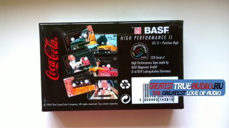BASF SUPER CHROME PLUS 1995 DISNEY COLLECTION  Coca-Cola..