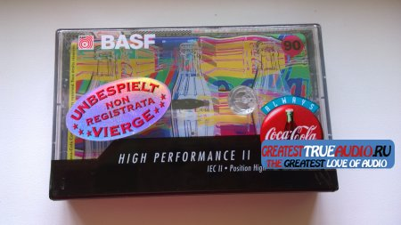 BASF SUPER CHROME PLUS 1995 DISNEY COLLECTION  Coca-Cola...