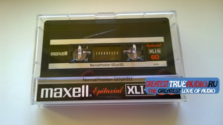 Maxell XLI-S 60  1980 USA VERSION